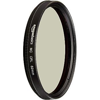 AmazonBasics Circular Polarizer Camera Lens Filter - 62 mm