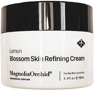 Magnolia Orchid Lemon Blossom Skin Refining Cream for All Skin Types, 3.4 Fl. Oz./100 ml