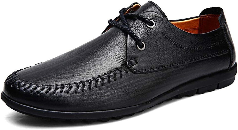 2019 herr Oxfordskor, Oxford skor for män män män Formal skor OX läder Lace Up Style Simple ljus Flexible modeable (Hollow valfri)  högkvalitativ äkta