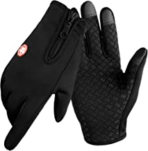 Winter Gloves For Men, Cycling Gloves women or mens gifts for christmas, Touch Screen Glove for Running Workout