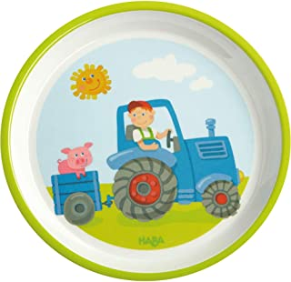 HABA Plate Tractor for Kids | Cutlery Item