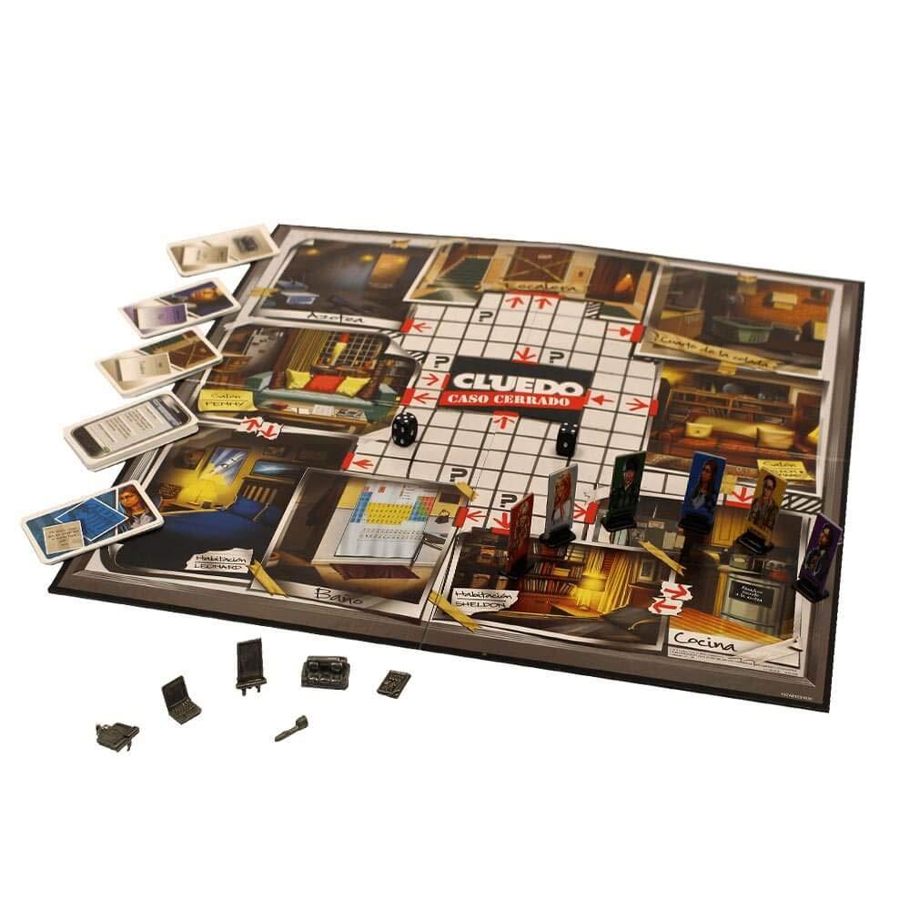 Eleven Force Cluedo The Big Bang Theory (82844), Multicolor: Amazon.es: Juguetes y juegos