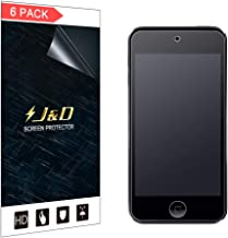 J&D Compatible for 6-Pack iPod Touch 2019 Screen Protector, [Anti-Glare][Anti-Fingerprint][Not Full Coverage] Matte Film Shield Screen Protector for iPod Touch (Release in 2019) Matte Screen Protector