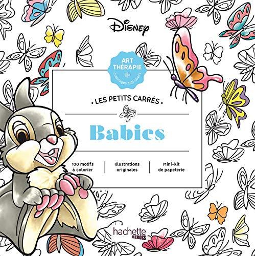 Disney babies: Carrés à colorier (Heroes)