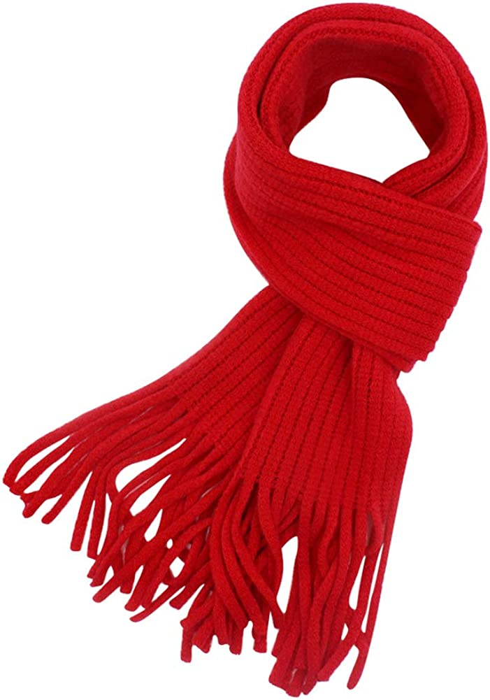 Baby Kids Knitted Winter Scarf Tassel f Max Max 59% OFF 83% OFF Soft Neck Wrap Warm