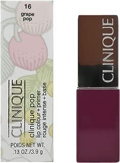 Clinique Pop Lip Colour And Primer Lipstick For Women Number 16, Grape Pop 3.90 g
