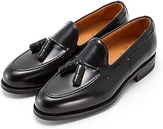[バーウィック] 1707 タッセル ローファー トラッド 紳士靴 革靴 メンズ ブラック 8491 ダイナイトソール ROISレザー素材 グットイャー製法 スペイン製