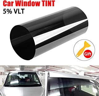 PSSC Pre Cut Rear Car Window Films for Smart Forfour 2004 to 2007 05/% Very Dark Limo Tint