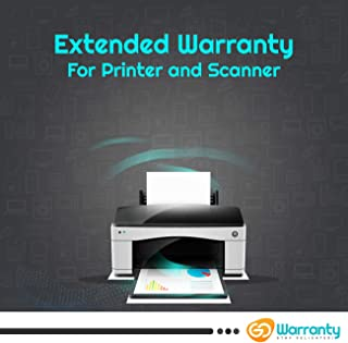 GoWarranty : Extended Warranty for Printers and Scanners (Range INR 1 - INR 10000) - (1 Year Warranty)
