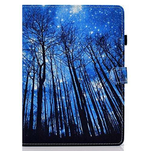 Unichthy Case For Samsung Galaxy Tab S6 Lite 10.4 Inch Tablet 2020 Release Model SM-P610 (Wi-Fi) SM-P615 (LTE) Cute Patterned Case Shockproof Stand Case with Card Slots Cover 2020 Forest