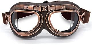 round aviator goggles