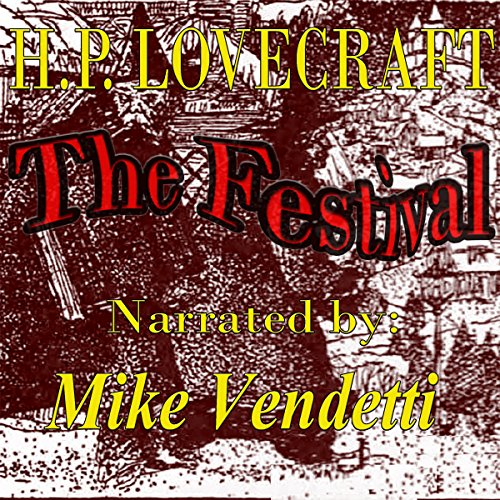 The Festival audiobook cover art