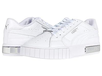PUMA Cali Star Metallic (Puma White/Puma Silver) Women