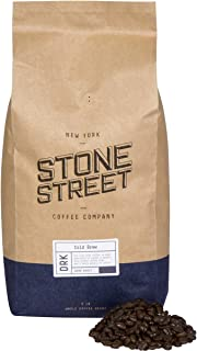 Stone Street Coffee Cold Brew Reserve Colombian Single Origin Whole Bean Coffee - 5 lb. Bag - Dark Roast