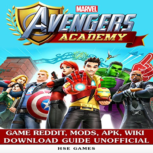 Marvel Avengers Academy Game Reddit, Mods, APK, Wiki Download Guide Unofficial audiobook cover art