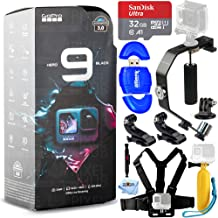 $539 » GoPro HERO9 Black - Waterproof Action Camera with Front LCD and Touch Rear Screens, 5K HD Video + Camera Stabilizer + Ultr...