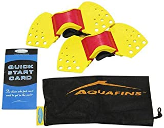 TheraBand Aquafins Aquatic Exercise Kit For Water Resistance Training for Upper/Lower Body, Pool Physical Therapy, Water A...