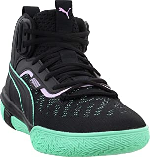 PUMA Mens Legacy Dark Mode Basketball Casual Shoes,