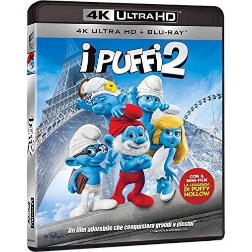 I Puffi 2 (4K Ultra Hd + Br)