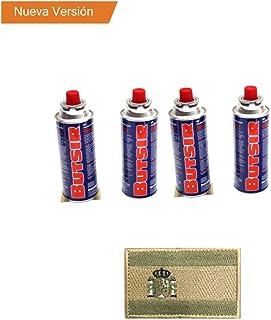 4 CARTUCHO GAS BUTSIR Cartucho de gas butano B-250 Envio