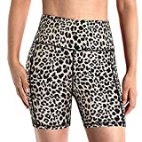 AFFGEQA Damen Workout Shorts Scrunch Booty Gym Yoga-Shorts mit hoher Taille Taschen Leggings...