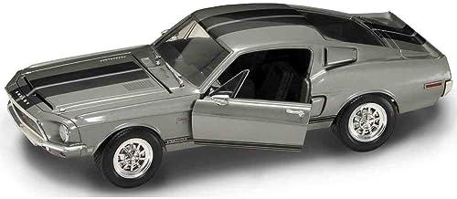 gran descuento 1968 Shelby GT-500KR [Yatming YM 92168], plata, 1 18 18 18 ème échelle Die Cast Model Car  costo real