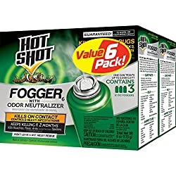 top rated Hot Shot Fogger 6, Odor Neutralizer, 3/2 oz, 2 Pack 2021