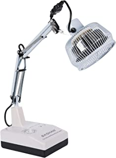 Desktop TDP Far Infrared Heat Lamp, Mineral Therapy Device, Pain Relief for Joint & Muscle, Adjustable Arm, Portable & Lightweight Design, TDP-124D