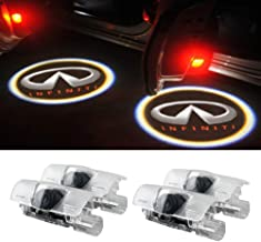 Moonet 4 x Door LED Courtesy Shadow Ghost Welcome Lamp Projector Light for Infiniti Ex Fx G M Series Q50 Q70 Q60 Q70 Qx50 QX56 QX80(pack of 4)