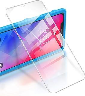 RIWNNI [3 Pezzi Vetro Temperato per iPhone 11 PRO/XS/X, 9H Durezza Pellicola Protettiva Ultra Sottile Protezione Schermo [...