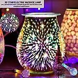 Ourleeme 3d Oil Burners - Electric Wax Melt Burners - 3d Firework Aroma