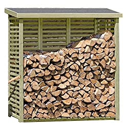 Holzwürmer im Brennholz