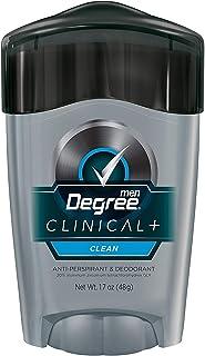 Degree Men Clean Clinical Antiperspirant Deodorant 1.7 oz (Pack of 2)