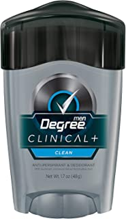 Degree Men Clean Clinical Antiperspirant Deodorant 1.7 oz (Pack of 3)