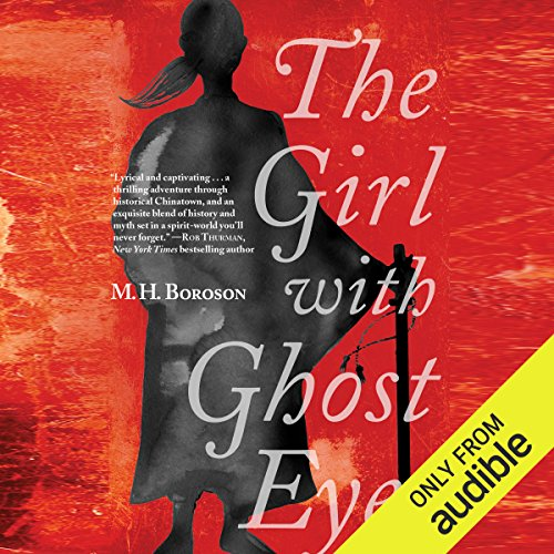 The Girl with Ghost Eyes audiobook cover art
