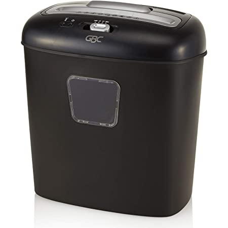 GBC Paper Shredder, 10 Sheet Capacity, Super Cross-Cut, 1 User, Personal, EX10-05 (1757393)