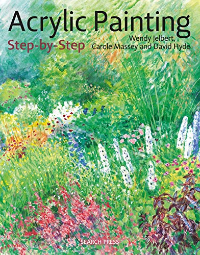 Acrylic Painting Step-by-Step: 22 Easy Modern Designs (Step-by-Step Leisure Arts)