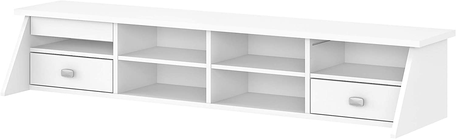 Japan's largest assortment Bush Beauty products Furniture Broadview Desktop Pure in Organizer White