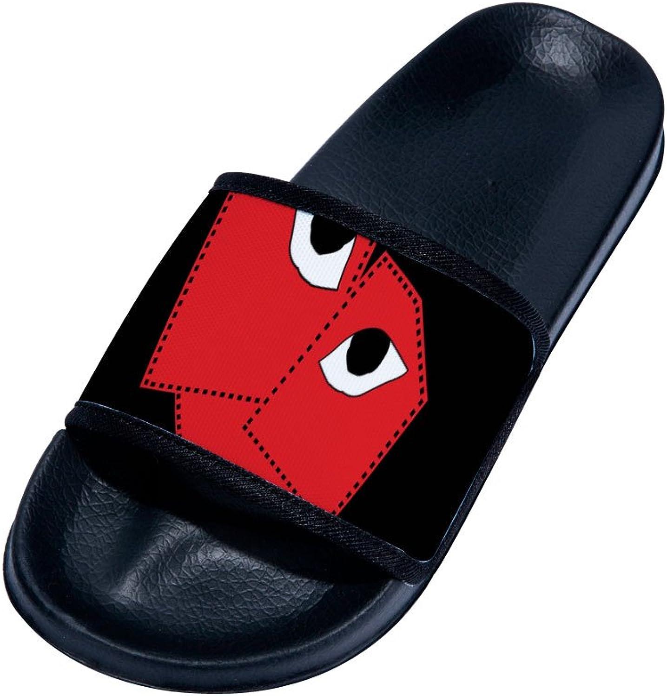 Buteri Funny Little Monster Eyes Slipper Summer Breathable Quick-Drying Non-Slip Slippers for Family