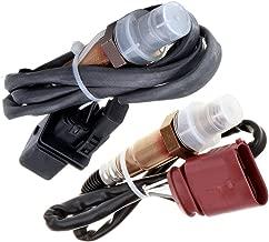 TUPARTS Oxygen Sensor O2 Air Fuel Ratio Sensor Upstream Downstream Front Rear Fits for 2001-2006 Audi A4 1.8L 2001-2005 Audi A4 Quattro 1.8L 2002-2004 Volkswagen Beetle 1.8L