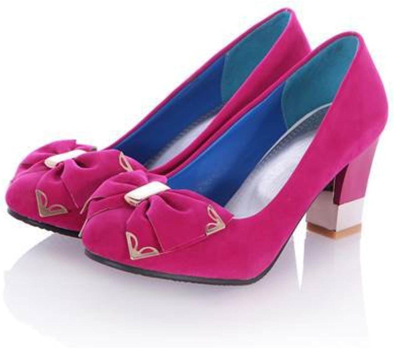 Asumer fashion dress office summer pumps spike heel round toe high-heeled women shoes fashion