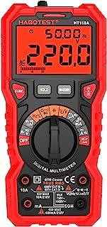 HT118A Multímetro Digital Alcance Automático Multímetro 6000 Contagens True RMS Medindo Tensão AC / DC Resistência de Corr...