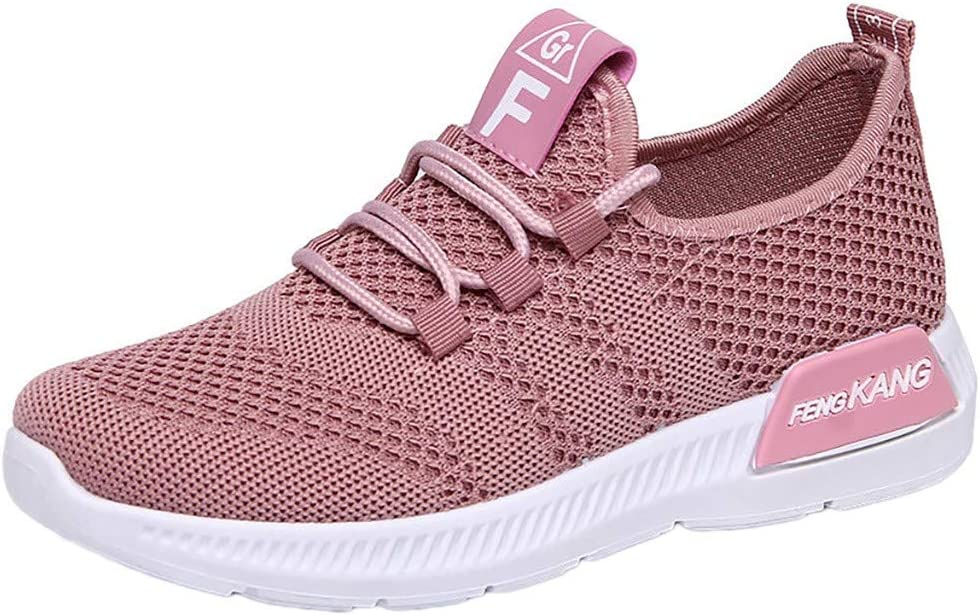 Gym millenniums Womens Lightweight Casual Loafers Multisport Trainers Ladies Fashion Breathable Slip-on Mesh Outdoor Leisure Comfy Casual Sneakers for Travelling Walking Running
