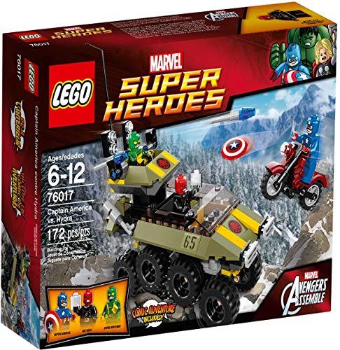LEGO Super Heroes 76017: Captain America vs. Hydra