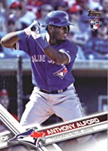 Baseball MLB 2017 Topps Update #US92 Anthony Alford #US92 NM+ RC Rookie Blue Jays