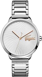 Lacoste Womens Quartz Watch, Analog Display and Stainless Steel Strap 2001059