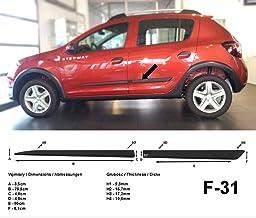 para Dacia Sandero Stepway 2010 Portaequipajes para Coche de 120 cm Barra para Coches con Estribo no es Totalmente Estable en el Techo Apto para Aluminio