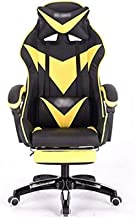 HIZLJJ Computer Gaming Chairs Gaming Chair Ergonomic Swivel Office PC Desk Chair Computer Chairs for Home and Office (Colo...