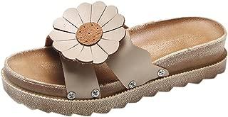 Orangeskycn Women Sandals Summer Retro Roman Leopard Print Slippers Fashion Casual Home Flip Flops Flat Beach Shoes
