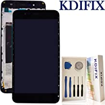 KDIFIX for ASUS ZENFONE 3 MAX ZC520TL LCD Touch Screen Assembly + Frame with Full Professional Repair Tools kit (Black+Frame)